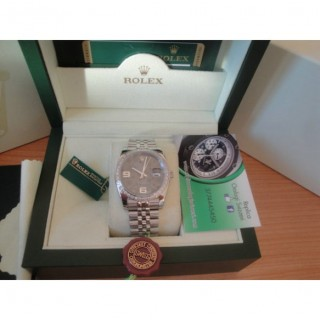 Rolex Replica Datejust Special Edition Diamond Grigio Flower Design