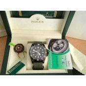 Rolex Replica Submariner No Date Pvd Pro Hunter Cordura Military Imitazione Orologio