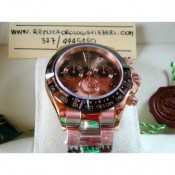 Rolex Daytona Everose Edition Imitazione Replica