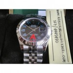 Datejust Jubilee Nero Arabi Edition Imitazione Replica