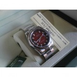 Datejust Oyster Red Brillantine Imitazione Replica