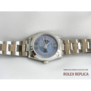 Rolex Air King Repliche Quadrante Blu