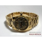 Rolex Day Date Repliche Quadrante Oro con Diamanti
