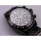 Rolex Daytona Repliche Pro Hunter Pvd Nero A7750 Swiss Eta