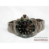Rolex Submariner Date Repliche Quadrante Verde 2836-2 Swiss Eta