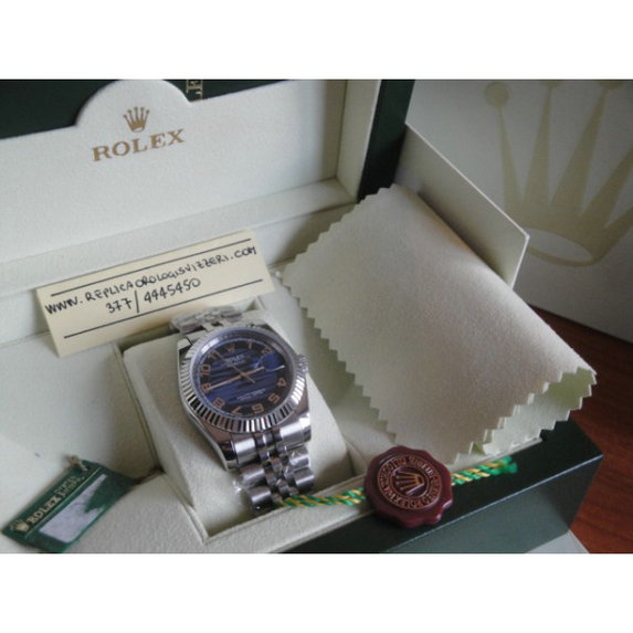 Datejust Jubilee Blue Marine Edition Imitazione Replica
