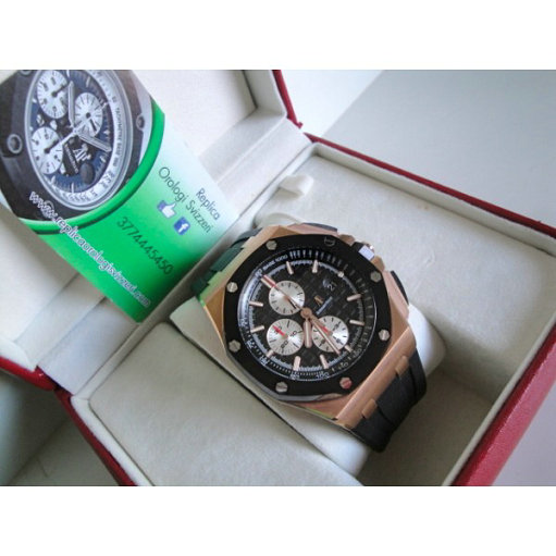Audemars Piguet Royal oak offshore new Gommino ref. 26400.ro Oro Rosa imitazione replica