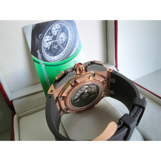 Audemars Piguet replica offshore michael schumacher ref. 26568om.oo.a004ca.o1 rose gold  limited edition orologio replica