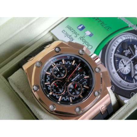Audemars Piguet replica offshore michael schumacher rose gold  limited edition orologio replica