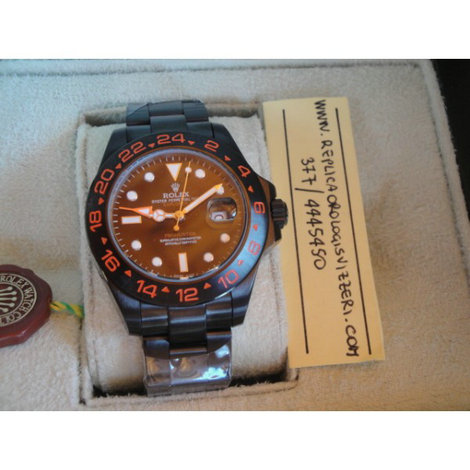 Rolex Explorer II New Bamford Red Edition Imitazione Replica