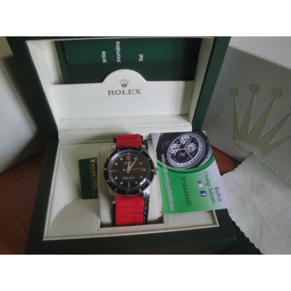 Rolex replica vintage milgauss red edition plexi