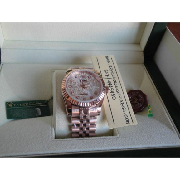 Datejust Jubilee Everose Centenario Limited Edition Imitazione Replica