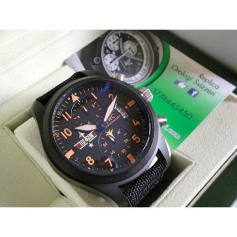 IWC Top Gun Orange Edition  Imitazione Replica