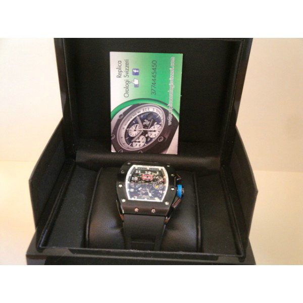 Richard Mille replica RM036 blue chrono prohunter PVD imitazione orologio