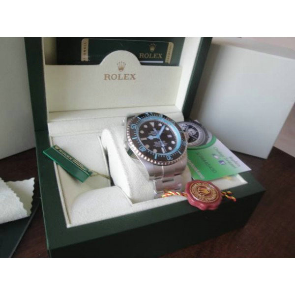 Rolex Deepsea Color Blue Edtion Imitazione Replica