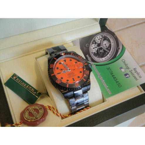 Rolex Submariner Bamford Orange Edition Imitazione Replica