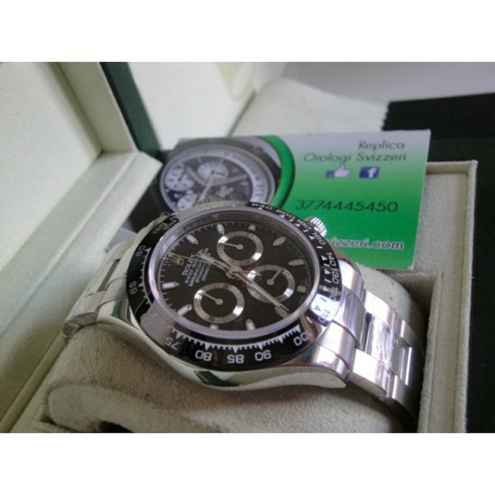 Rolex replica daytona new ceramichon my 2016 orologio replica copia