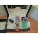 Rolex Replica Datejust Special Edition Diamond Nero 369
