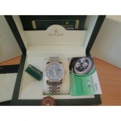 Rolex Replica Datejust Special Edition Diamond Blu Roman