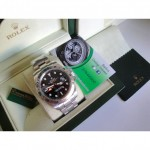 Rolex Replica Explorer Big Basilea 42mm Nero Dial Orologio