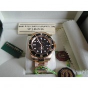 Rolex Submariner Gold Nero Edition Imitazione Replica