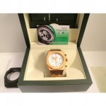 Audemars Piguet Offshore Leo Messi Rose Gold Bianco Dial Limited Edition Orologio Replica