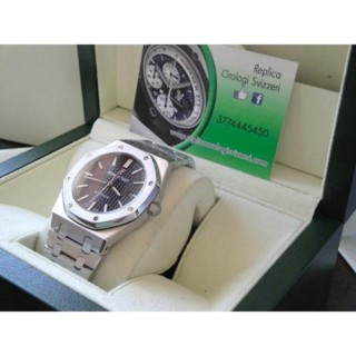 Audemars Piguet Royal Oak Jumbo Nero Big Size Imitazione Replica