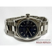 Rolex Date Just Repliche Quadrante Blu