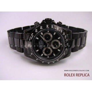 Rolex Daytona Repliche Pro Hunter Pvd Nero