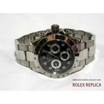 Rolex Daytona Repliche Quadrante Nero con Diamanti