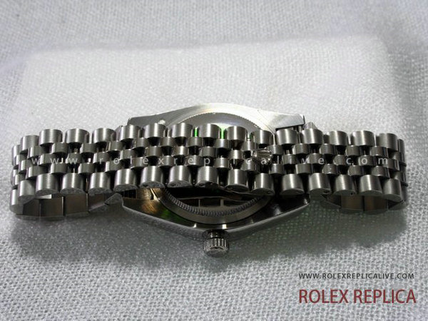 Rolex Date Just Jubilee Replica Quadrante Bianco