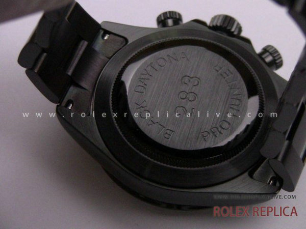 Rolex Daytona Replica Pro Hunter Pvd Nero A7750 Swiss Eta  (20)