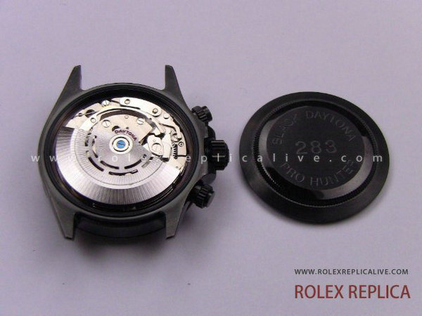 Rolex Daytona Replica Pro Hunter Pvd Nero A7750 Swiss Eta