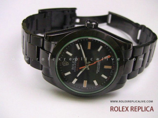 Rolex Milgauss Replica Pro Hunter Pvd Nero (10)