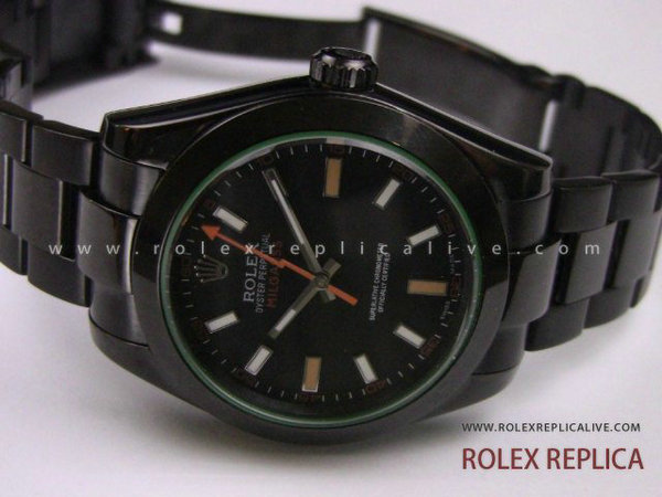 Rolex Milgauss Replica Pro Hunter Pvd Nero