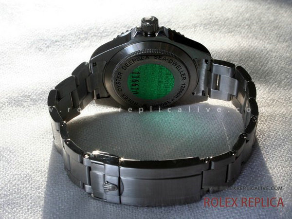 Rolex Sea Dweller Deepsea Replica Quadrante Nero